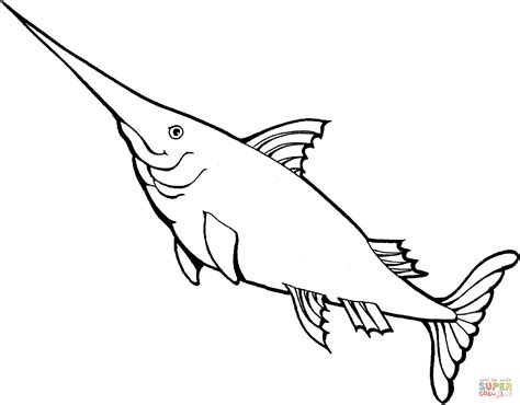 swordfish 3 coloring page free printable coloring pages