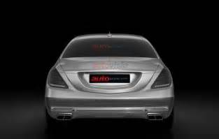 Mercedes Patents Mercedes S Class Pullman Patent Images Leaked