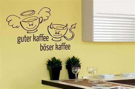 guter kaffee böser kaffee wandtattoos und wandschablonen f 252 r die k 252 che