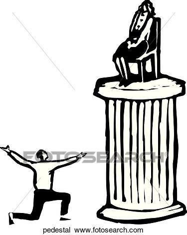 pedestal drawing clipart of pedestal pedestal search clip art