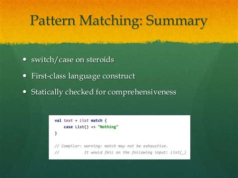 pattern matching tuples scala scala for c developers