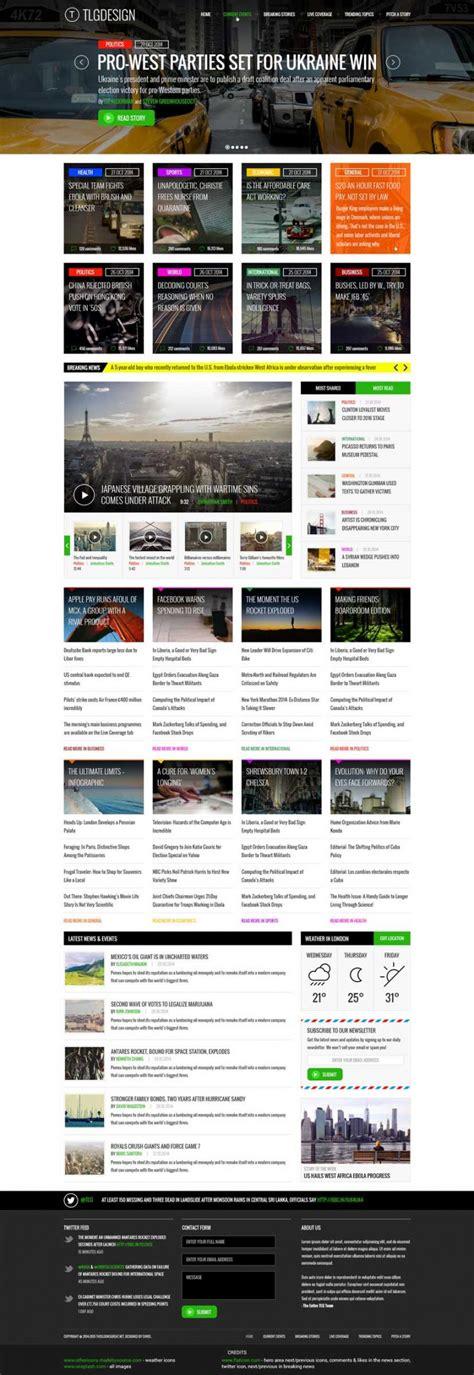 web layout ui kit news website design ui kit free psd download download psd