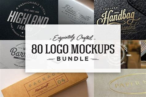 design mockup bundle 100 logo psd vector mockup templates design shack
