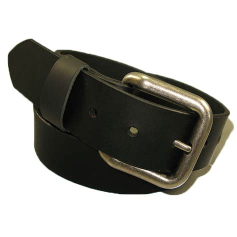 Handmade Mens Leather Belts - mens handmade genuine solid buffalo leather belt ebay