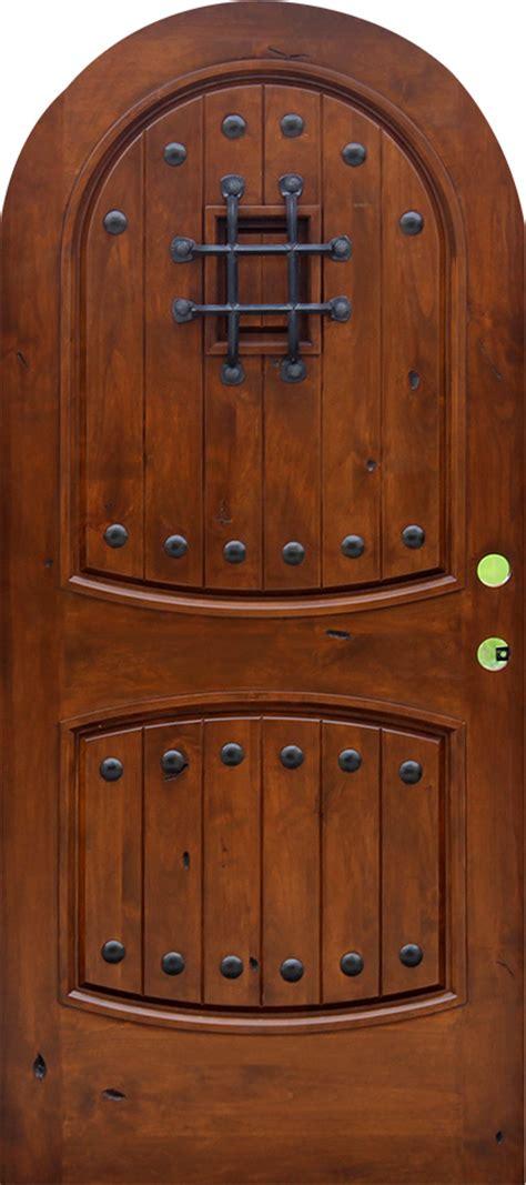 top exterior doors rustic top doors rustic arch top entry doors
