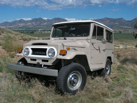 1971 Toyota Land Cruiser 1971 Toyota Land Cruiser Clean Restored Fj40 A Land