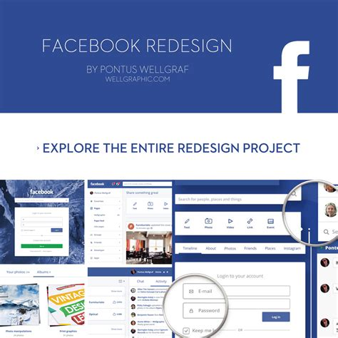 facebook app template psd image collections templates