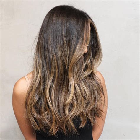 hair color weaves brown blonde pics balayage clip in hair extensions medium brown with dark