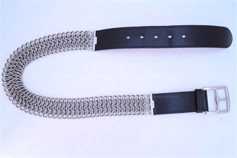 hermes brown leather chain belt 1599 0000