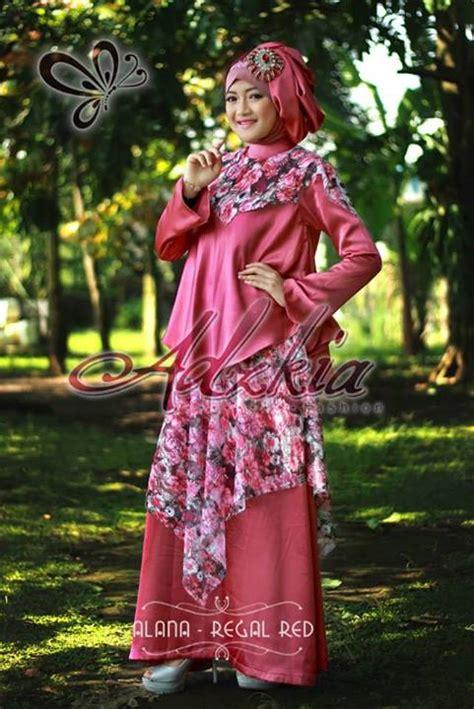 Alena Dress Gamis alana by adzkia regal baju muslim gamis modern