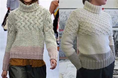 how to fix a in a knit sweater diy revisited that chlo 233 sweater fringe association