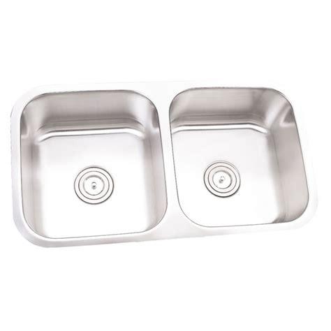 32 Inch Stainless Steel Undermount 50 50 Double Bowl 32 Inch Undermount Kitchen Sink