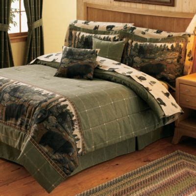 kimlor mills black bear comforter set queen shop your