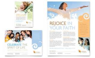 religious flyer templates christian church flyer ad template design
