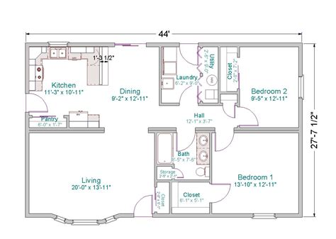 2 bedroom ranch house plans 3 bedroom 2 bath ranch floor plans bedroom at real estate
