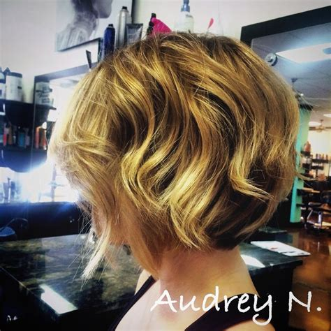 short stacked wavy bob 2013 curly stacked bobs short hairstyle 2013