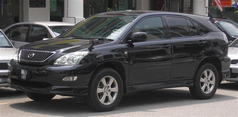 harrier lexus 2007 file toyota harrier second generation front serdang
