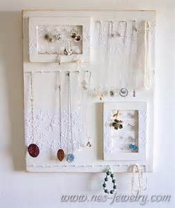 shabby chic jewelry organizer diy i love to cook