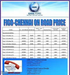 new car price list in chennai ford figo review price pictures page 51 team bhp