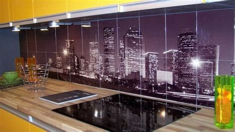 digital backsplash urban kitchen backsplash decorating style