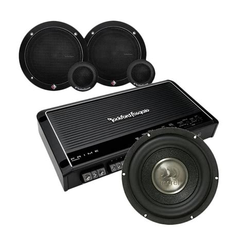 Rockford Loud Paket Audio Mobil jual rockford fosgate keren paket audio mobil