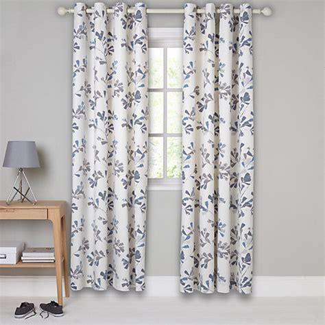 eyelets for curtains john lewis buy john lewis thalia lined eyelet curtains blue john lewis