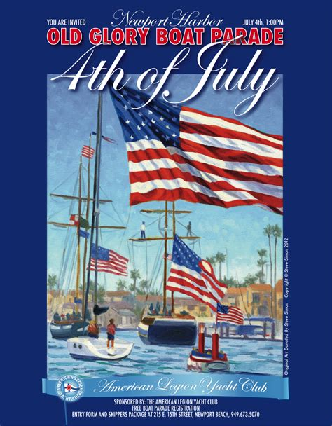 old glory boat parade studio city dad weekend whaddup july fourth edition