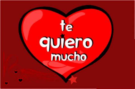imágenes que digan te quiero mucho mi amor imagen de coraz 243 n rojo con frase te quiero mucho