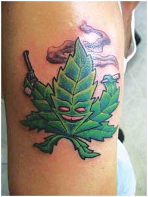 weed leaf tattoo design aspen leaf tattoo fall leaf