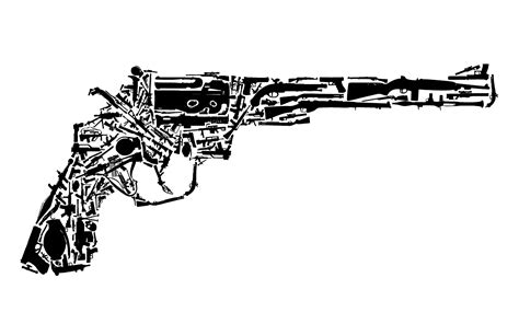 pictures made out of gun made out of guns dr niamh on the plum tree