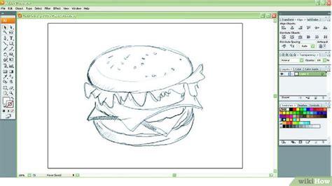 adobe illustrator tutorial zeichnen einen hamburger im adobe illustrator zeichnen wikihow
