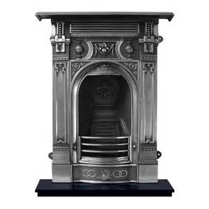 Patio Fireplace With Chimney Victorian Carron Victorian Small Combination Cast Iron