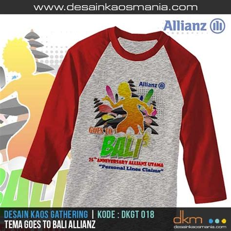 Kaos For The Alliance desain kaos gathering outbound atau event family gathering