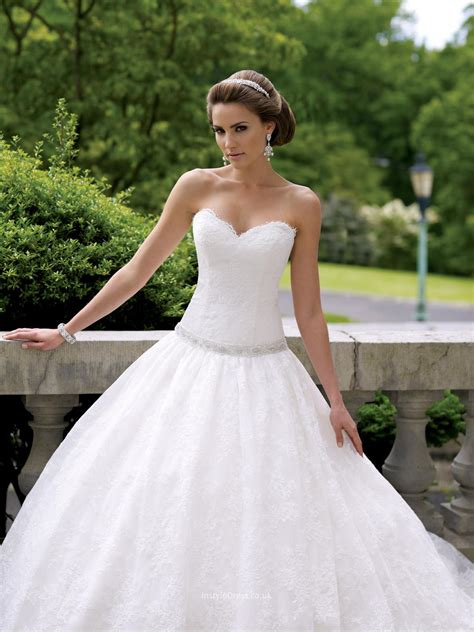 over taffeta strapless sweetheart neck wedding dress