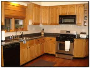 Kitchen Paint Colors With Oak Cabinets Recommended Kitchen Color Ideas With Oak Cabinets Home And Cabinet Reviews