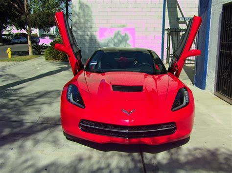 corvette doors 2014 stingray corvette with lambo style doors chevrolet