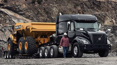 volvo trucks debuts  heavy haul model transport topics