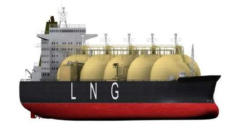 carrying liquefied natural gases by various type lng ships