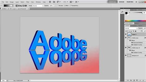 tutorial photoshop text 3d photoshop cs5 tutorial 3d text with a drop shadow youtube