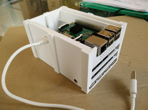 nas with raspberry pi a small 3d printed nas chapelier fou