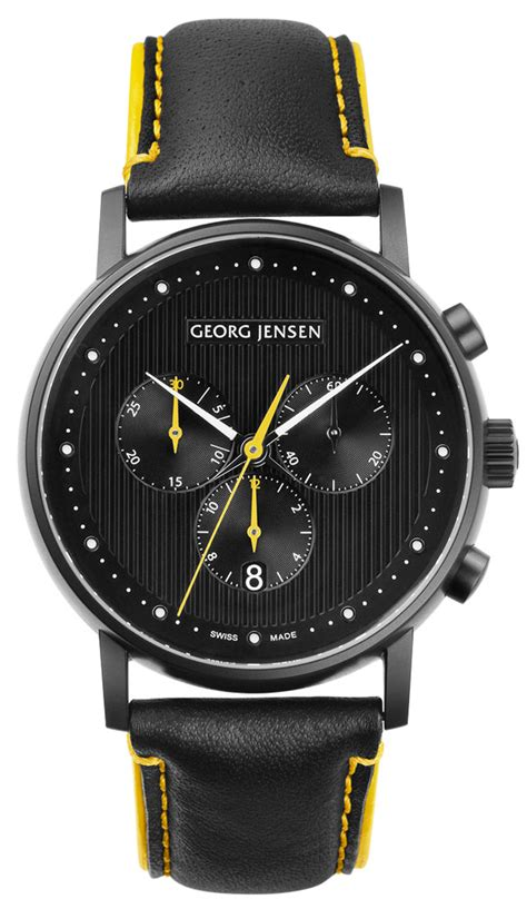 nordic design watches georg jensen koppel 517 black edition nordicdesign