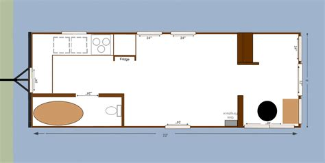 Floor Plan Sketchup Tiny House Plumbing Blueprints Tumbleweed Tiny House Floor