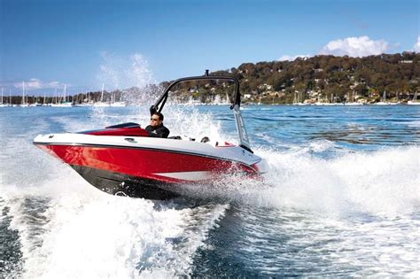 scarab jet boats top speed scarab 165 impulse review trade boats australia