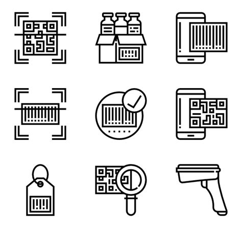 material design qr code icon meticulous icon family line 8 429 vector icons
