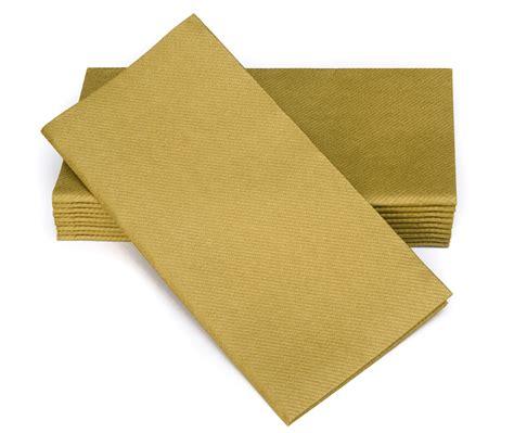 Decorative Napkins Paper by 16 Quot X16 Quot Simulinen Signature Color Collection Gold