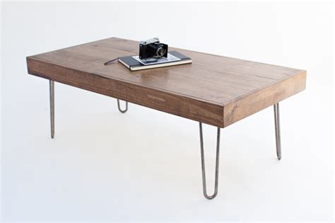 coffee table legs diy diy coffee table with hairpin legs ehow home ehow