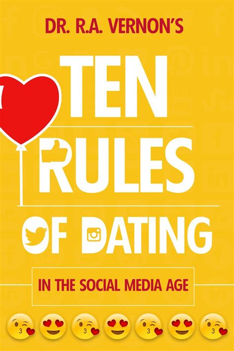 As If Dating Werent Complicated Enough Dating by Dr R A Vernon S 10 Of Dating Book In The Social
