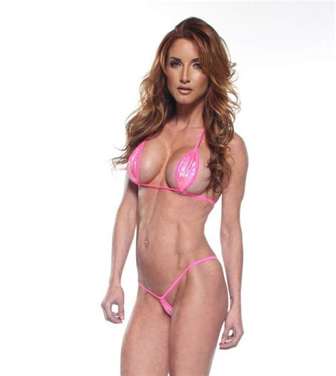 micro string pisterest bitsy s bikinis sparkly holographic pink mini teardrop micro 2pc minimal