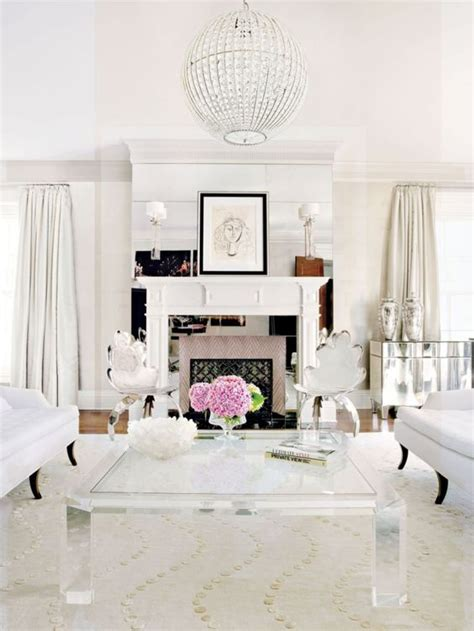 white and silver living room 9 glam ideas for an elegant living room daily dream decor