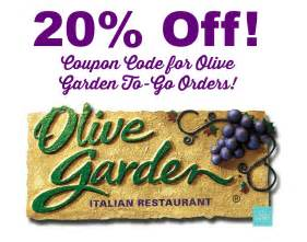 olive garden coupon code 20 to go orders